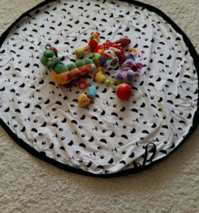 """Коврик-сумка для игрушек """"Панда"""""""