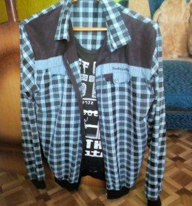 Рубашка 2 штуки