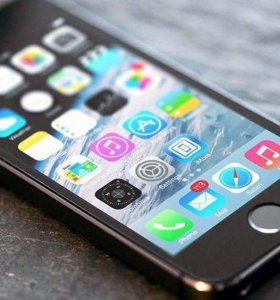 iPhone 5s серый космос