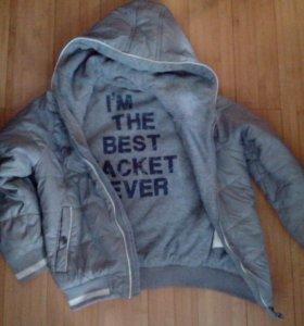 Детская куртка 4-5 лет
