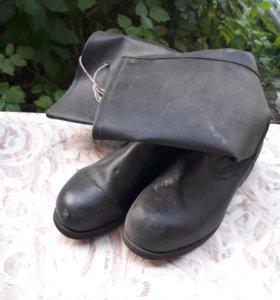 керзовые сапоги, рабочие ботинки