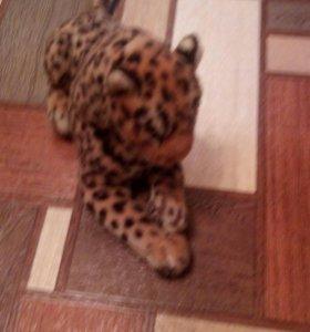 Плюшевая игрушка леопард.