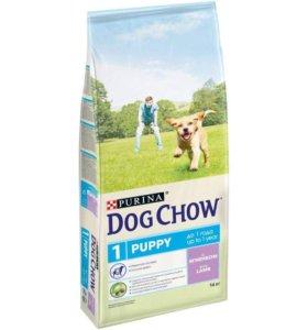 DOG CHOW (Дог Чау) PUPPY. 14кг, корм для щенка.
