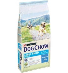 DOG CHOW (Дог Чау) Large Breed Puppy, 14кг мешок.