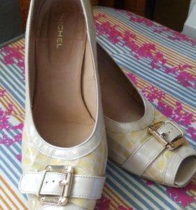 Туфли натуральная кожа юничел