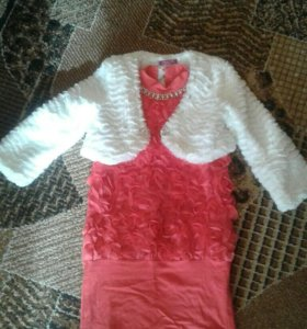 Платье +балеро