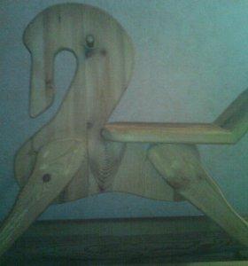 Купите деткам Лошадь качалку