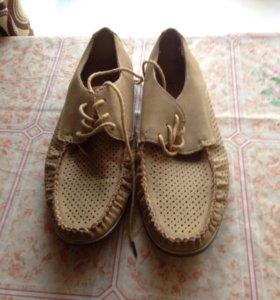 Срочно продам Мужские кожаные туфли