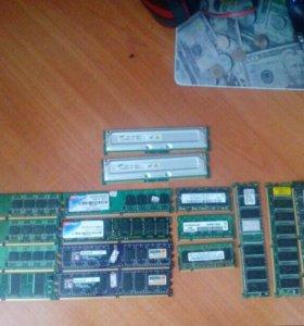 Оперативки DDR2 для ПК и для Ноутбуков.