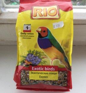 Корм для зкзотических птиц