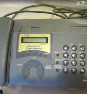 Факс Sharp FO-81