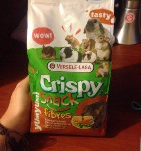 Корм для грызунов Crispy snack