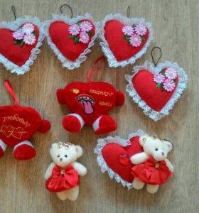 Сердечки, валентинки ❤️❤️❤️