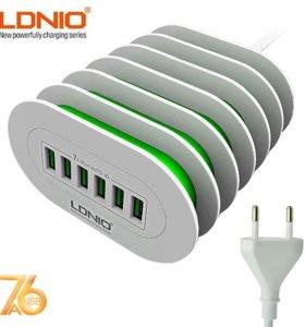 Зарядное устройство LDNIO A6702 Новое