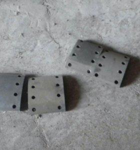Тормозные накладки на Камаз новый
