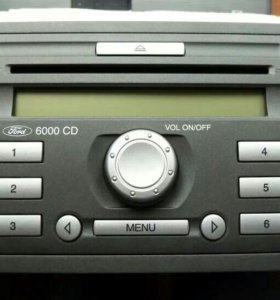 Магнитола штатная Ford 6000CD