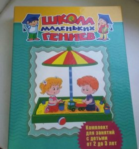 Комплект для занятий с детьми от 2 до 3