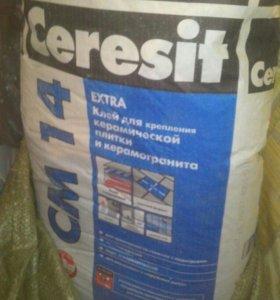 Клей плиточный церезит ceresit 25кг