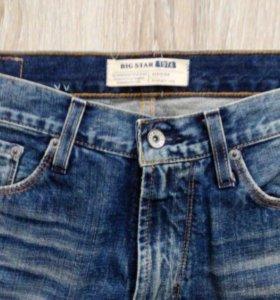 Джинсы мужские,новые,бренд-Big Star,размер 31-32
