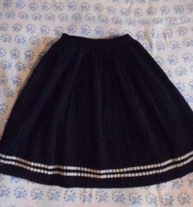 Юбочка на девочку 7-8 лет, одежда для школы