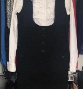 Блузка+сарафан женский