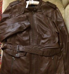 Куртка пиджак из натуральной кожи