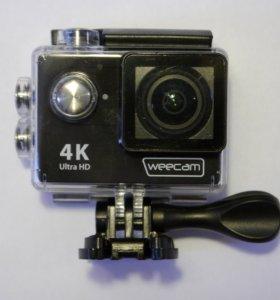 Снимай видео в формате 4К на экшн-камеру