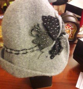 шляпка женская ( фетр)
