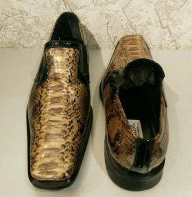 Новые мужские туфли полуботинки Pal Zileri 45 р-р