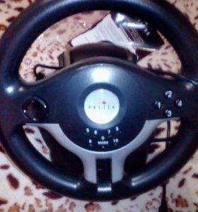 Игровой руль oklick w5 mini