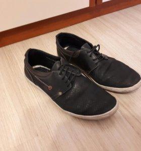 Туфли черные 41 р.сменка
