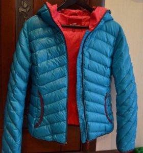 """Осенняя яркая теплая куртка """"Snowimage"""""""