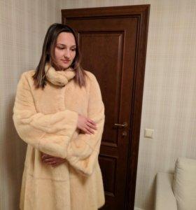 Шуба норковая итальянская Mala Mati