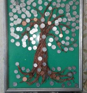 Денежное дерево сделаю на заказ