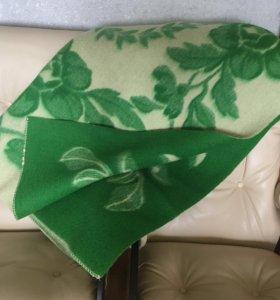 Одеяло шерстяное новое