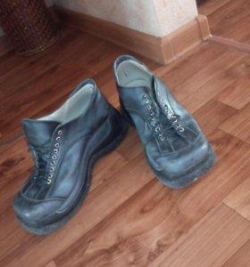 Ботинки натуральная кожа 38 размер