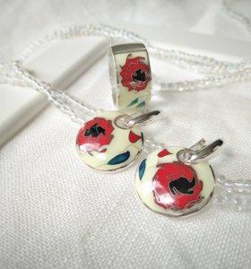 Комплект минанкари «Пряные Розы»