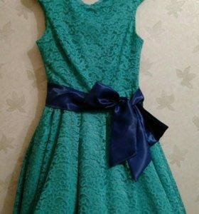 Праздничное платье и клатч