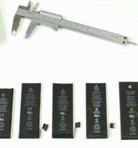 Аккумулятор iphone 4s/5/5s/6/6s