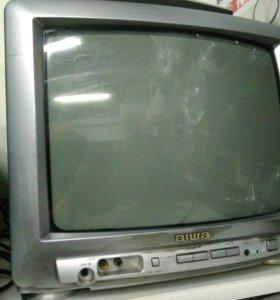 Телевизор aiwa с пультом