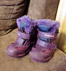 Ботинки зимние 13см