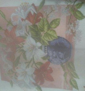 Рисунок на канве для вышивания