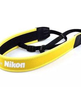 Ремешок ремень для фотоаппарата Nikon желтый новый