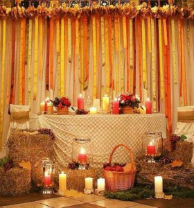 Оформление свадеб и торжеств
