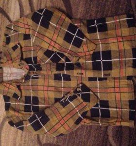 Рубашка байковая детская 98 104 3 4 года