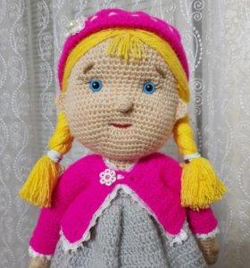 Кукла вязаная (ручная работа)