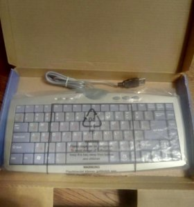 Мини клавиатура USB новая
