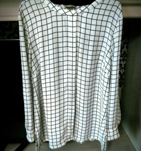 Продам удлинённую блузку H&M,размер 52-54