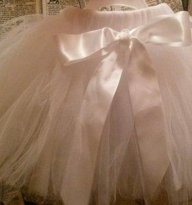 Комплект (юбка +повязка)для девочки