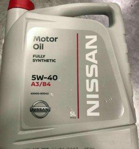 Масло моторное NISSAN 5W40 5 л.